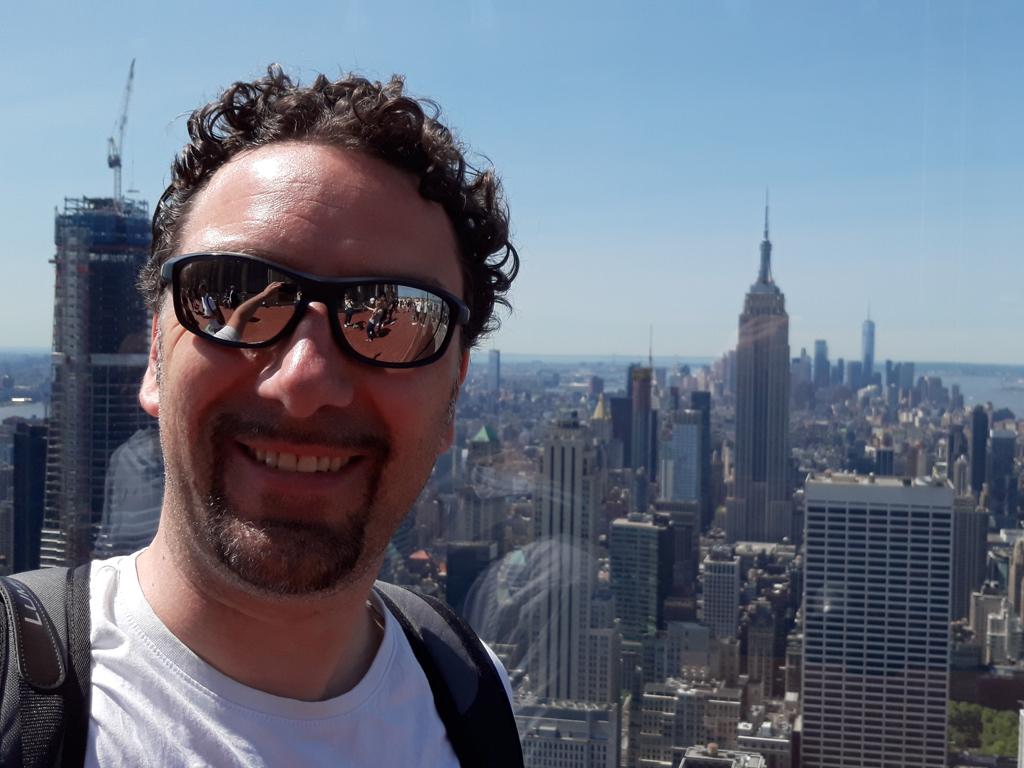 Jürgen Kroder in New York (Bild: Jürgen Kroder)