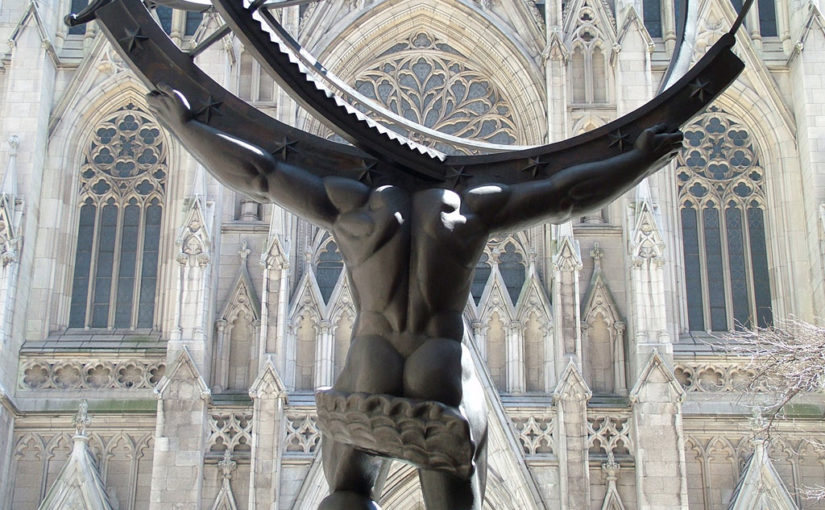 Atlas Statue in New York (Bild: New York Geheimtipps / Jürgen Kroder)